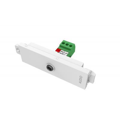 Vision wandcontactdoos: 3.5mm (0.14″) module - Wit