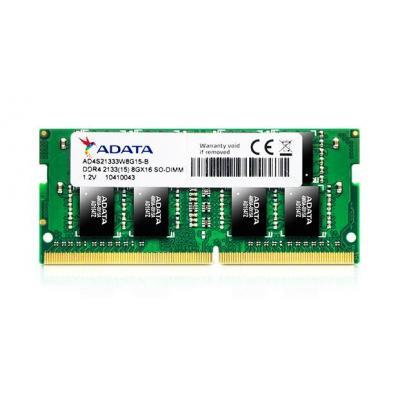 Adata RAM-geheugen: 16GB DDR4 2133MHZ SO-DIMM