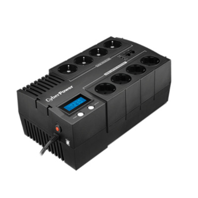 CyberPower BR1000ELCD UPS - Zwart