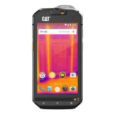 CAT smartphone: S60 - Zwart, Zilver