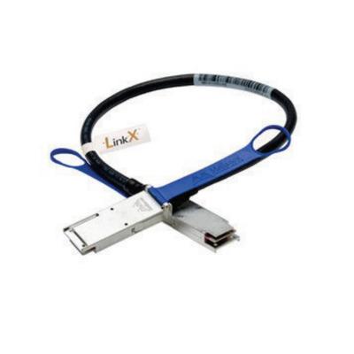 Lenovo kabel: 1.25m Mellanox QSFP Passive DAC - Zwart, Blauw