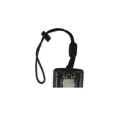 Zebra Wrist strap, black Anti-statische polsband - Zwart