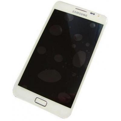 Samsung mobile phone spare part: MEA Front + LCD White