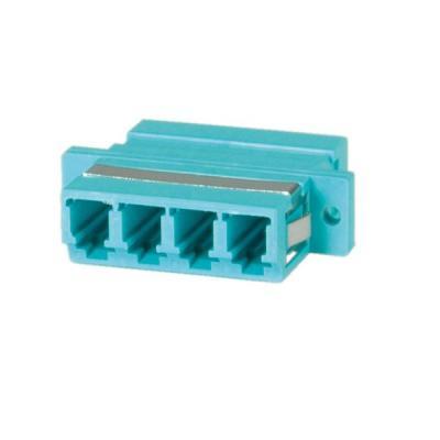 Value Fibre Optic Adapter LC quadruple, OM3 PB Fiber optic adapter