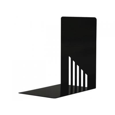 Staples boekensteun: Boekensteun SPLS metaal 14x14x9 zwa/pk2