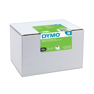 DYMO LW - Shipping / Name Badge Labels - 54 x 101 mm - S0722420 Etiket - Wit