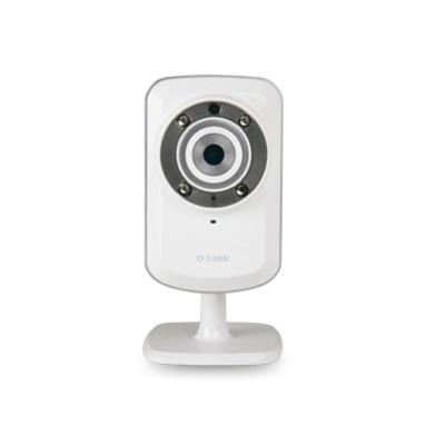 D-Link DCS-932L, 10/100Base-TX, 802.11b/g/n, 32 MB SDRAM, MJPEG/JPEG, 1 Lux, 2 W Beveiligingscamera - Wit