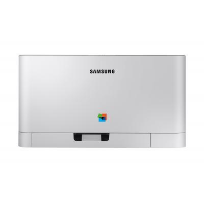 Samsung laserprinter: Xpress Laserprinter Kleur A4 (18 ppm) C430 - Zwart, Wit