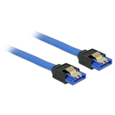 DeLOCK 84976 ATA kabel - Zwart, Blauw