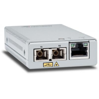 Allied Telesis AT-MMC2000/SC-60 Media converter - Zilver