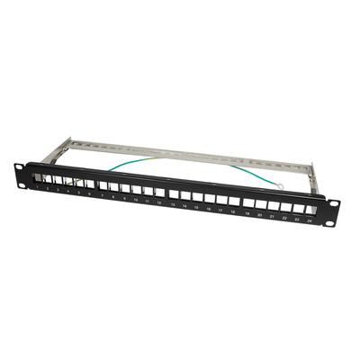 LogiLink NK4042 Patch panel - Zwart