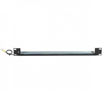 """Black Box 48.26 cm (19"""") Rackmount DIN-Rail Shelf for In-Line Surge Protectors Rack toebehoren - Zwart"""