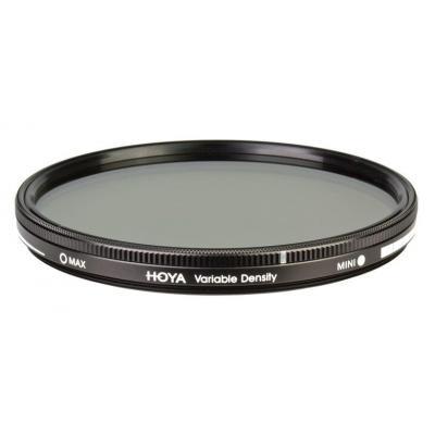 Hoya camera filter: Variable Density 77mm - Zwart