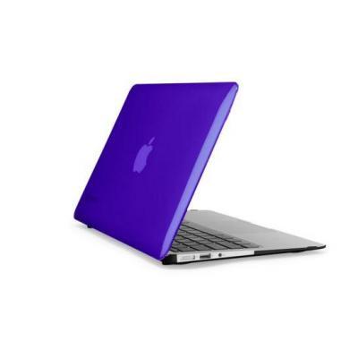 Speck laptoptas: MacBook Air 11inch SeeThru Hot Lips Pink - Zwart, Paars