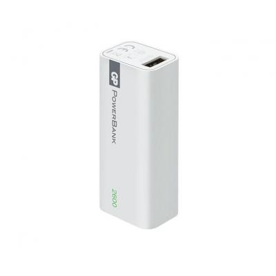 Gp batteries powerbank: Portable PowerBank 1C02A - Wit