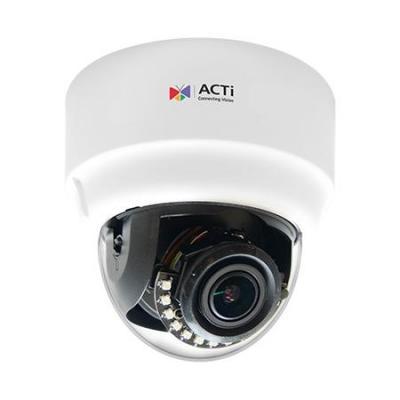 "Acti beveiligingscamera: 1/2.8"" CMOS, 2048x1536px, 3.21 MP, 15m IR, 850nm, 131.17x139.95mm, 440g, Black/White - Zwart, ....."