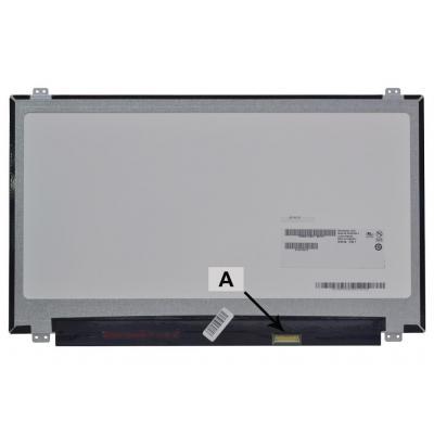 2-Power 14.0 FHD 1920x1080 On-Cell Touch LCD Screen Notebook reserve-onderdeel - Zwart, Grijs