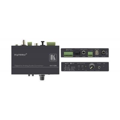 Kramer Electronics Kramer 6410N DA converter Audio converter - Zwart