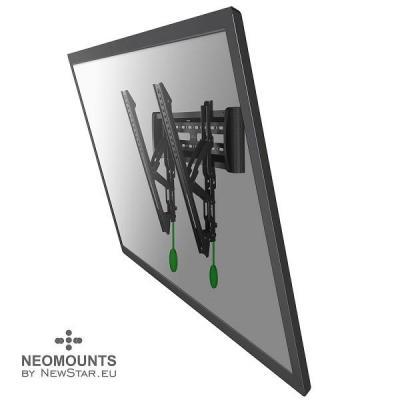 """Newstar montagehaak: De NM-W365BLACK is een kantelbare wandsteun voor flat screens t/m 65"""" (162 cm) - Zwart"""