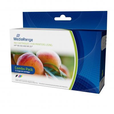 MediaRange MRHP350B351C inktcartridge