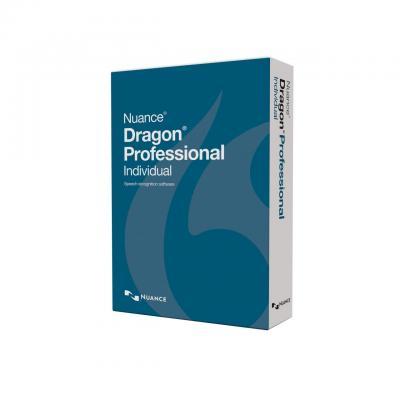 Nuance stemherkenningssofware: Dragon NaturallySpeaking Dragon Professional Individual 15