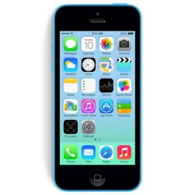 Apple smartphone: iPhone 5c 8GB - Blauw Refurbished   Refurbished   Licht gebruikt  (Refurbished LG)