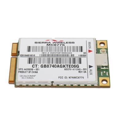 Hp netwerkkaart: 2300 Broadband Vod Wireless Card (Demo model)
