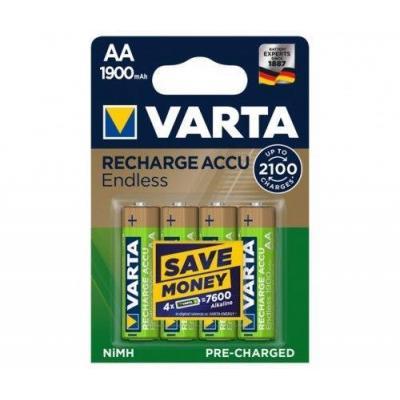 Varta 56676 101 404 batterij - Goud, Groen