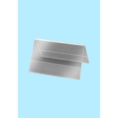 Sigel Table Top Display Frame 100x 60 mm, 10 pcs. Ordner - Transparant