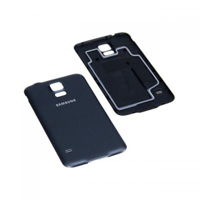 Samsung mobile phone spare part: Battery Cover, Black