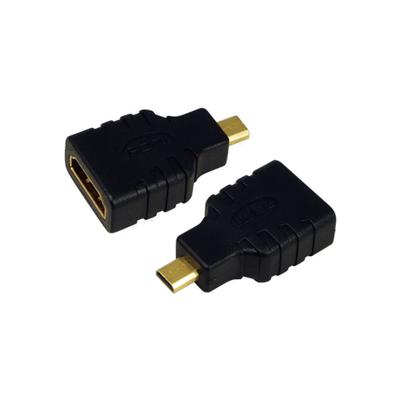 LogiLink AH0010 Kabel adapter - Zwart