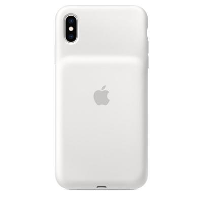 Apple mobile phone case: Smart Battery Case voor iPhone XS Max - Wit