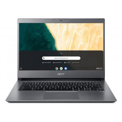 "Acer Chromebook 714 CB714-1WT-542N 14"" Touch i5 8GB RAM 128GB eMMC - QWERTY Laptop - Grijs"