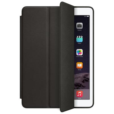 Apple tablet case: iPad Air 2 Leer Smart Case - Zwart