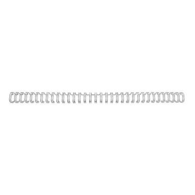 Gbc inbinder: WireBind Draadruggen Zilver 8mm (100)