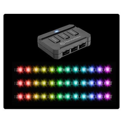 Thermaltake lichtstrip: Lumi Color 256C - Zwart