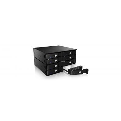 Icy box SAN: IB-2280SSK - Zwart