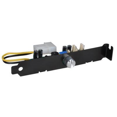 Lian li ventilator snelheidcontroller: PCI Fan Speed Controller - Zwart