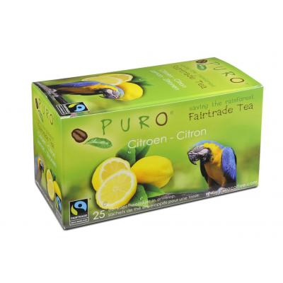 Puro thee: Fairtrade Lemon