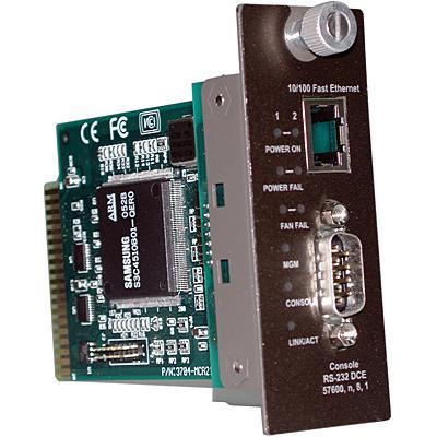Trendnet TFC-1600MM SNMP Management Module for TFC 1600 Chassis WEB Based Media converter