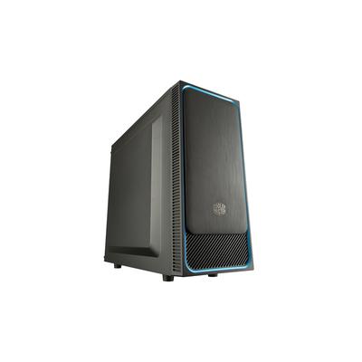 Cooler Master MasterBox E500L Behuizing - Zwart,Blauw