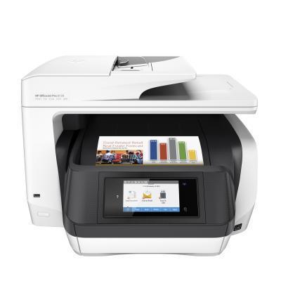 Hp multifunctional: OfficeJet 8720 - Zwart, Cyaan, Magenta, Geel
