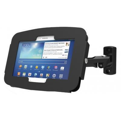 Maclocks : Galaxy Tab A Space Enclosure Swing Arm - Fits Galaxy Tab A 9.7 - Zwart