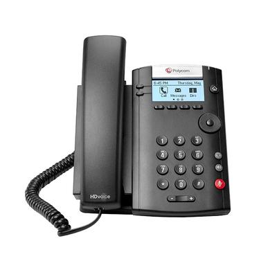 POLY VVX 201 IP telefoon - Zwart