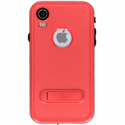 Dot Plus Waterproof Backcover iPhone Xr - Rood / Red Mobile phone case