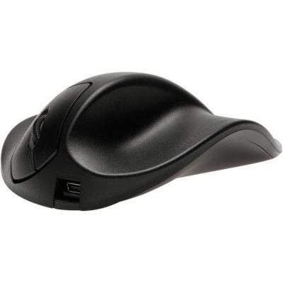 Hippus HandShoeMouse USB - Small - Rechtshandig Computermuis - Zwart
