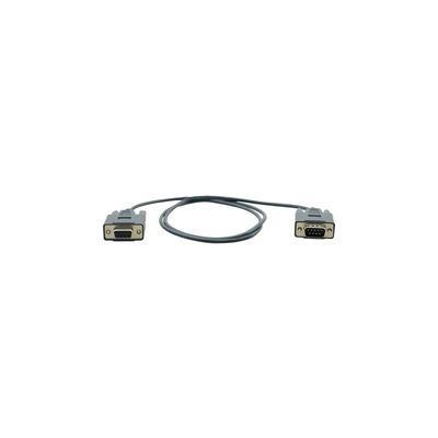 Kramer Electronics RS−232, D9(M) / D9(F), 28AWG, 0.9 m Seriele kabel - Zwart