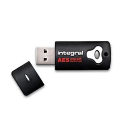 Integral INFD32GCRYPTO197 USB flash drive - Zwart