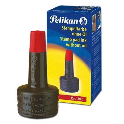 Pelikan inkt: Stempelinkt 4K, rood - Bruin, Rood