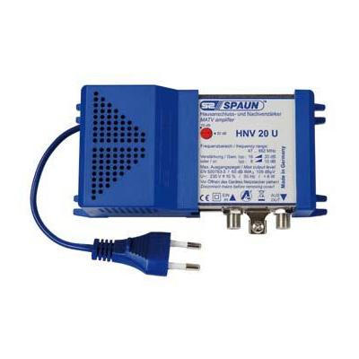 Spaun signaalversterker TV: HNV 20 U - Blauw